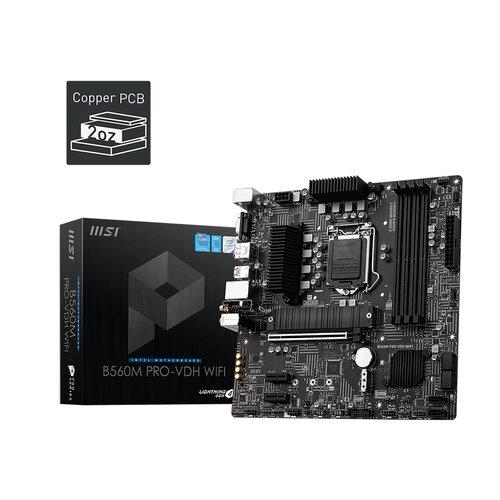 Nous avons sélectionné pour vous : MSI B560M PRO-VDH Wifi LGA1200 MATX DDR4
