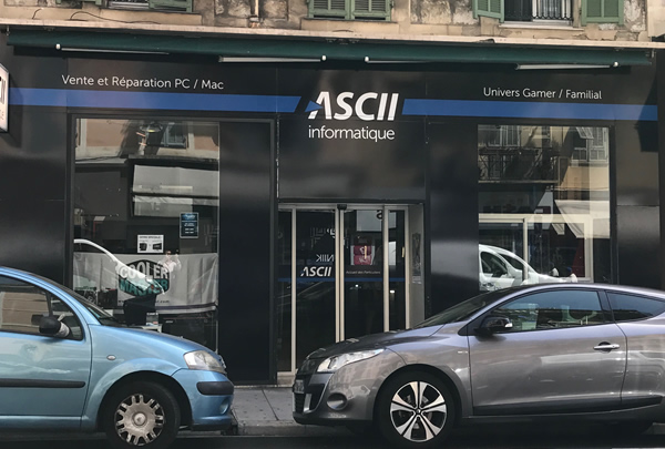 Magasin ASCII Informatique