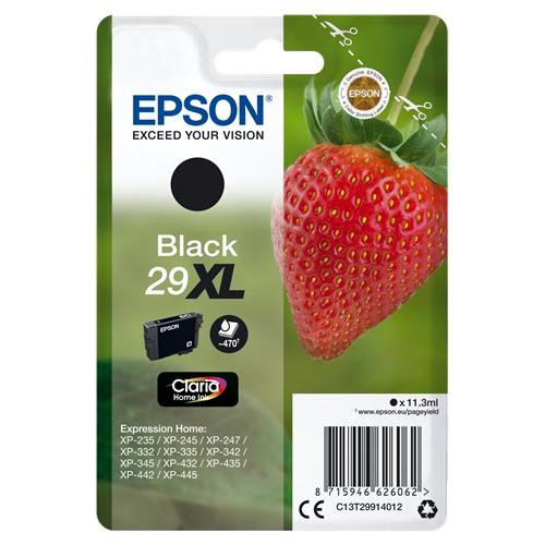 EPSON Cartouche 29 XL- Noir