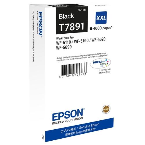 EPSON Cartouche T7891 XXL - Noir