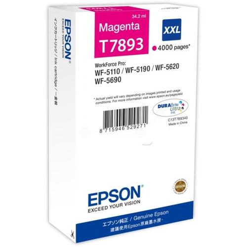 EPSON Cartouche T7893 XXL - Magenta