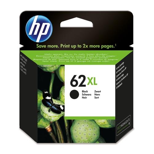 HP Cartouche N° 62 XL - Noir