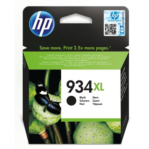 HP Cartouche N0 934 XL - Noir