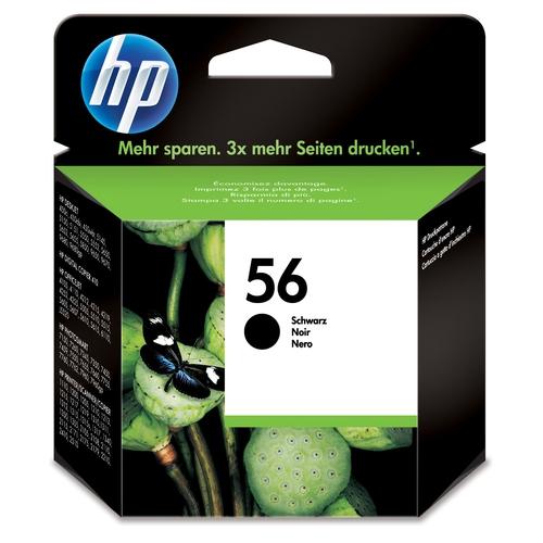 HP Cartouche N° 56 - Noir