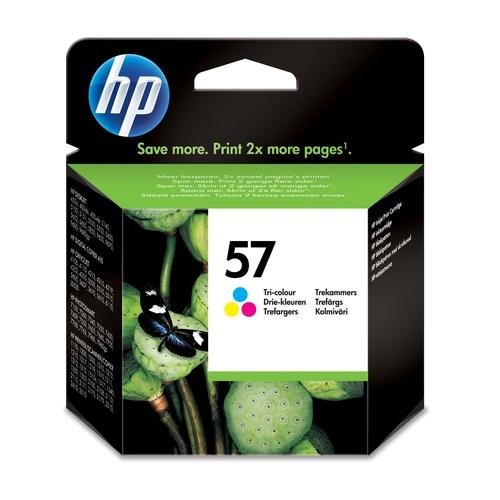 HP Cartouche N° 57 - Tricolore