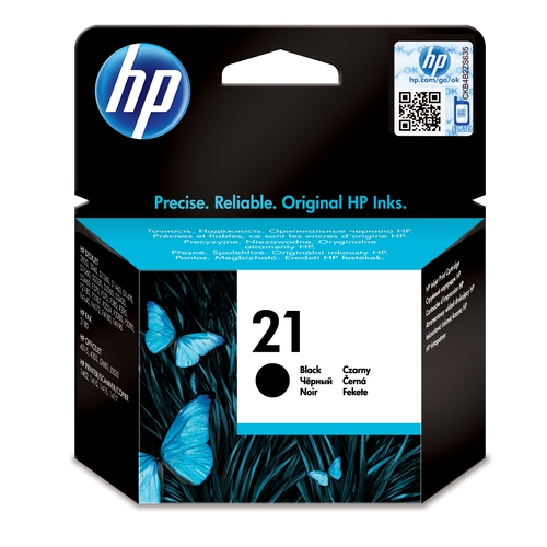 HP Cartouche N° 21 - Noir