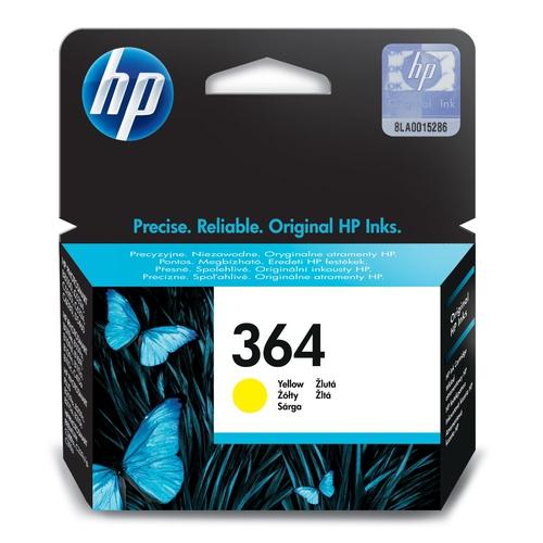HP Cartouche N° 364 - Jaune