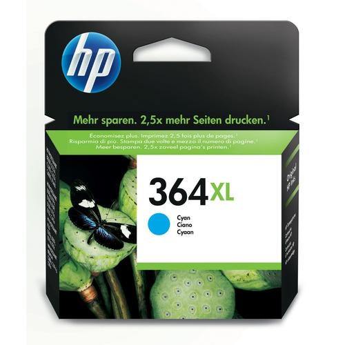 HP Cartouche N° 364 XL - Cyan