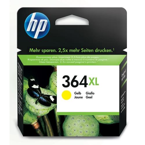 HP Cartouche N° 364 XL - Jaune
