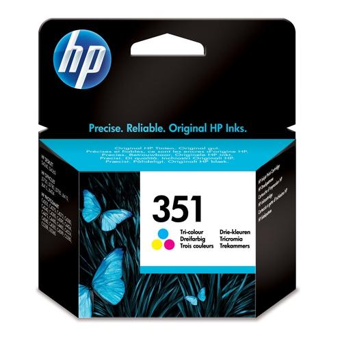 HP Cartouche N° 351 - Tricolore