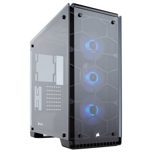 CORSAIR Crystal 570X RGB Boîtier Glass Tempered ATX
