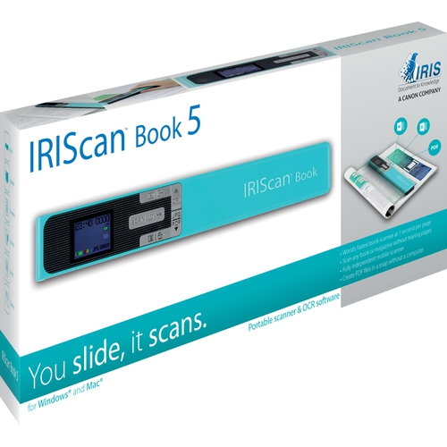 IRISCAN Scanner portable IRIScan Book 5 Turquoise