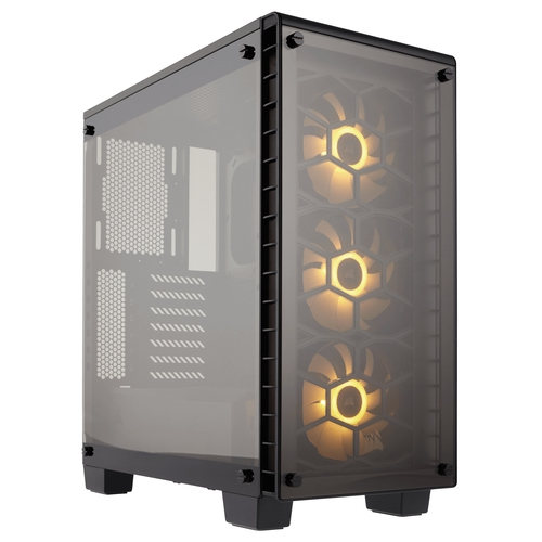 CORSAIR Crystal 460X RGB Boîtier Glass Tempered ATX