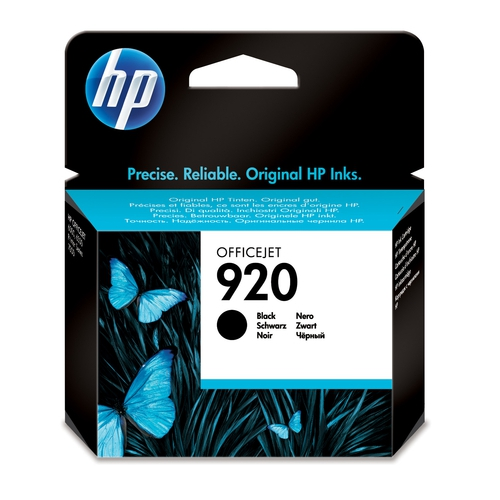 HP Cartouche N° 920 - Noir