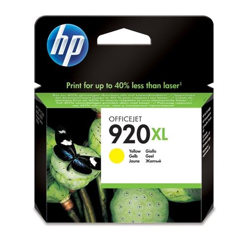 HP Cartouche N° 920 XL - Jaune