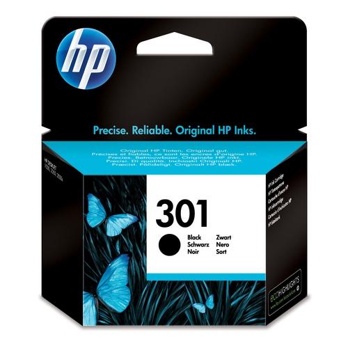 HP Cartouche N° 301 - Noir