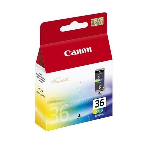CANON Cartouche CLI-36 - Tricolore