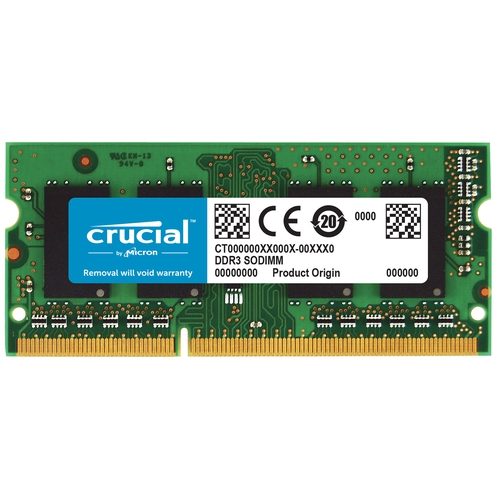 CRUCIAL SoDimm DDR3 4Go 1333Mhz Pour Apple