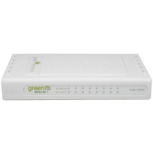 D-LINK DGS-1008D 8x Ethernet RJ-45 Gigabit