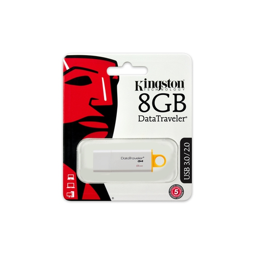 KINGSTON DataTraveler G4 8 Go - USB 3.0