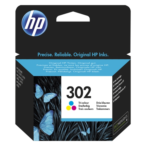HP Cartouche N° 302 - Tricolore