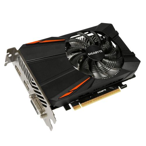 GIGABYTE Nvidia GeForce GTX1050-Ti D5 4G - 4Go - PCI-e 16X - HDMI DVI DP