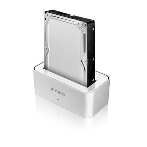 """ICY BOX Station d'accueil pour disque dur 2.5"""" et 3.5"""" - USB 3.0"""