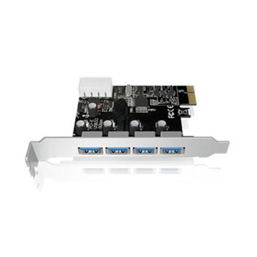 ICY BOX IB-AC614A Carte contrôleur PCI-e 1X - 4x USB 3.0