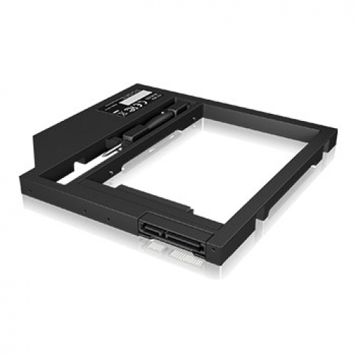 "ICY BOX Adaptateur disque HDD/SSD 2.5"" pour emplacement DVD 7-9 mm"