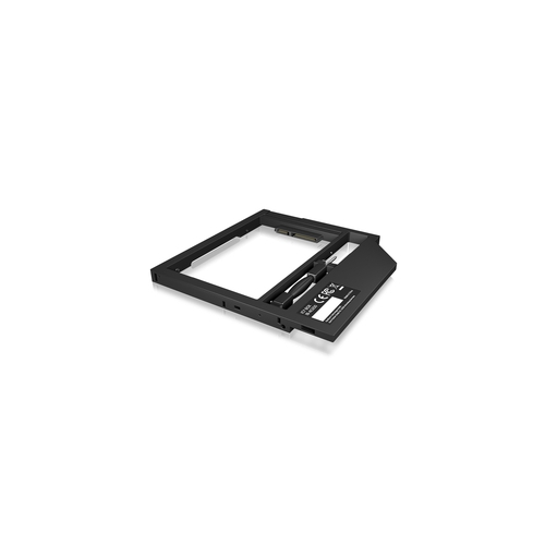 """ICY BOX Adaptateur disque HDD/SSD 2.5"""" pour emplacement DVD 7-9 mm"""