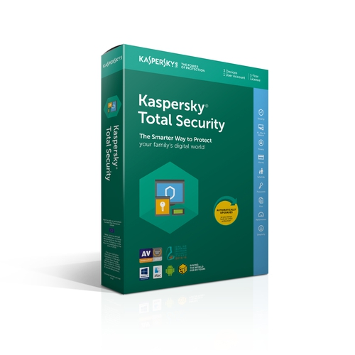 KASPERSKY Total Security 2018 20eme anniversaire - 2 appareils / 1 an