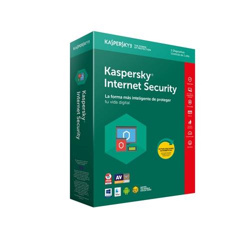 KASPERSKY Internet Security 2018 - 3 appareils / 1an