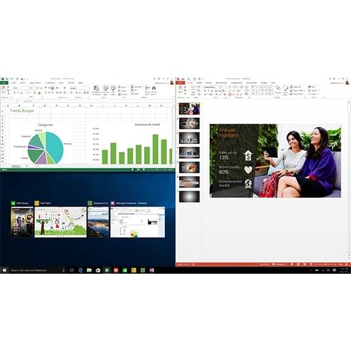 MICROSOFT Windows 10 Famille 64 Bit - DVD