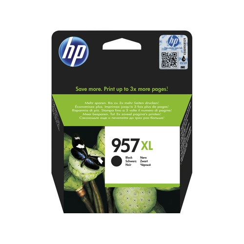 HP Cartouche N° 957 XL - Noir