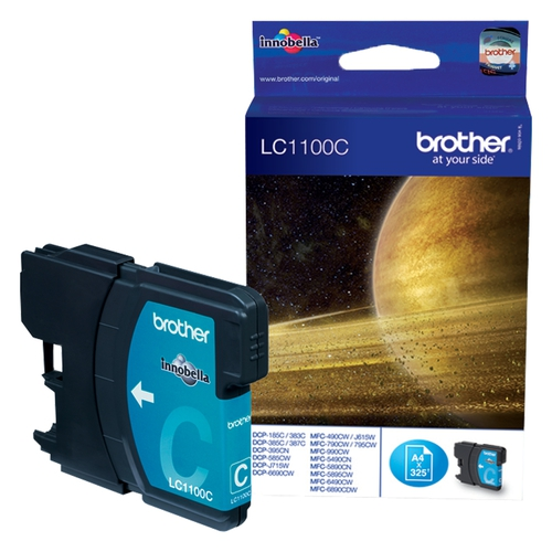 BROTHER Cartouche LC1100C - Cyan