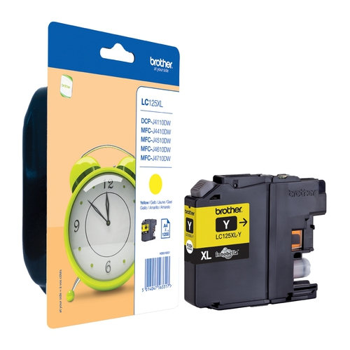BROTHER Cartouche LC225XLY - Jaune