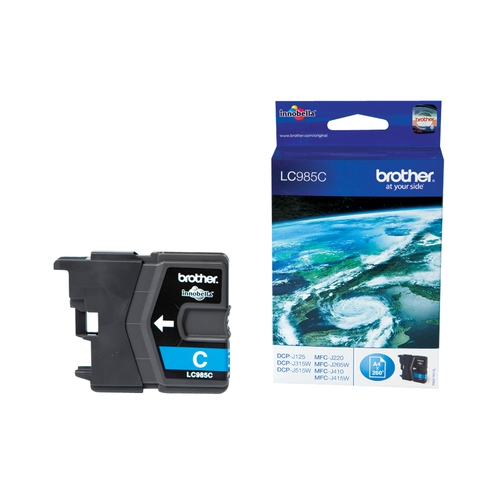 BROTHER Cartouche LC985C - Cyan