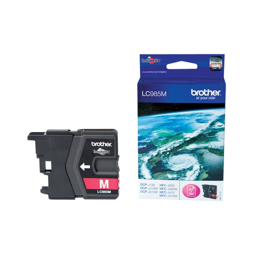 BROTHER Cartouche LC985M - Magenta