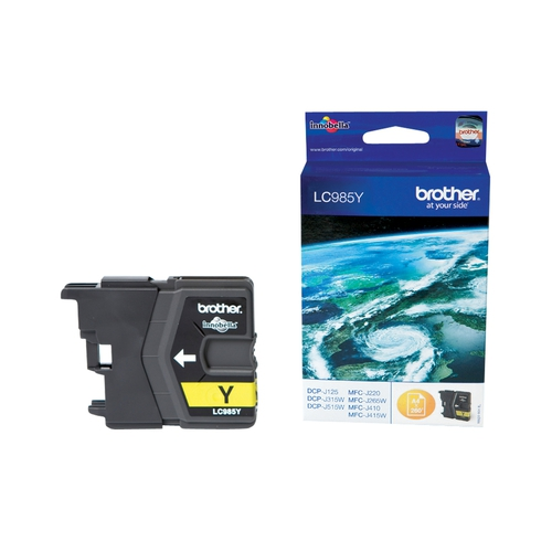 BROTHER Cartouche LC985Y - Jaune