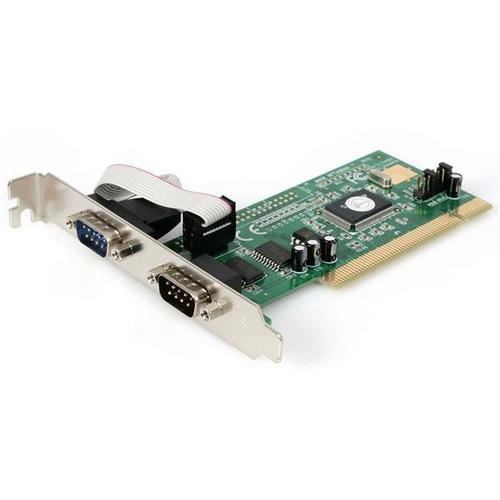 STARTECH PCI2S550 Carte contrôleur PCI - 2x RS-232 DB9