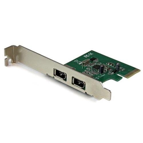 STARTECH PEX1394A2V Carte contrôleur PCI-e 1X - 2x 1394a