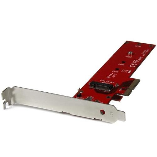STARTECH Adaptateur PCI Express x4 vers SSD M.2 PCIe (nvme)