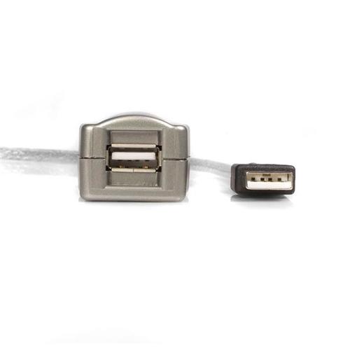 STARTECH Câble Extension USB 2.0 Actif 4.80m