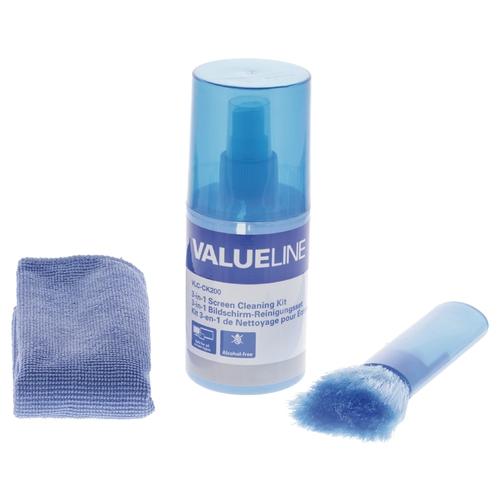 VALUELINE Kit de nettoyage écran