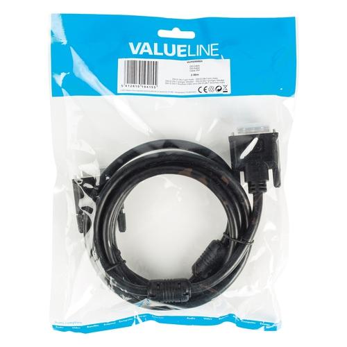 VALUELINE Câble DVI-D (M-M) 2.00m