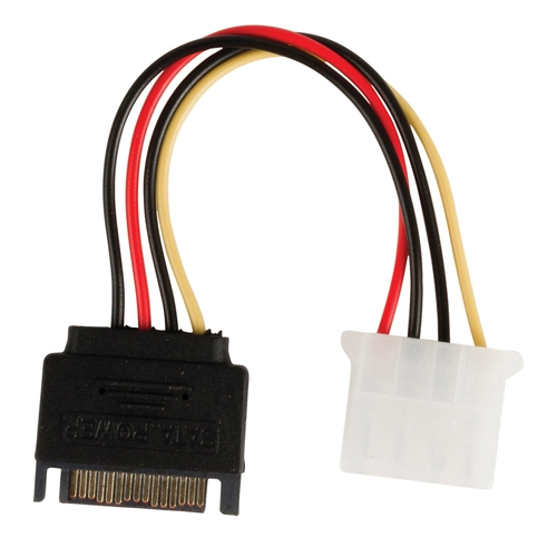 VALUELINE Câble d'alimentation interne SATA (M) - Molex (F) 0.15 m