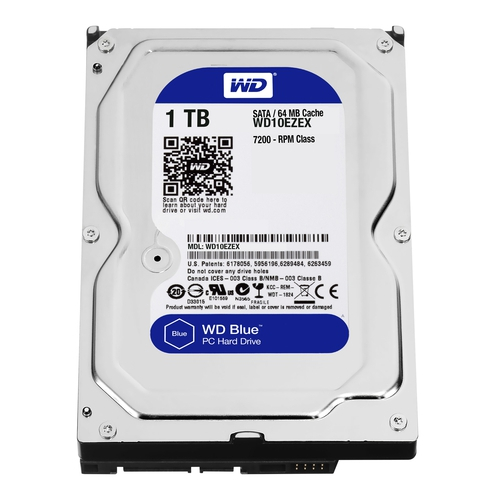 "WD Caviar Blue 1To SATA-6Gb 3.5"" 7200trs/min 64Mo"