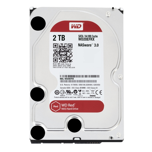 "WD Caviar Red 2To SATA-6GB 3.5"" 5400trs/min 64Mo"