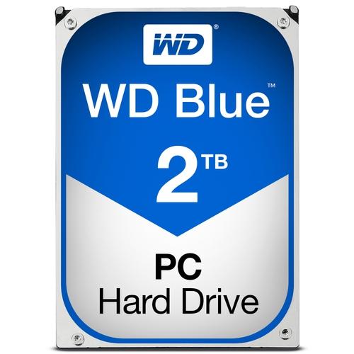 """WD Caviar Blue 2To SATA-6GB 3.5"""" 5400trs/min 64Mo"""