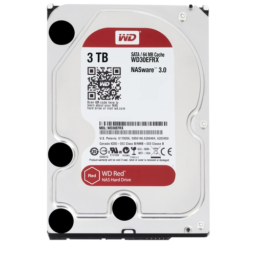 "WD Caviar Red 3To SATA-6GB 3.5"" 5400trs/min 64Mo"